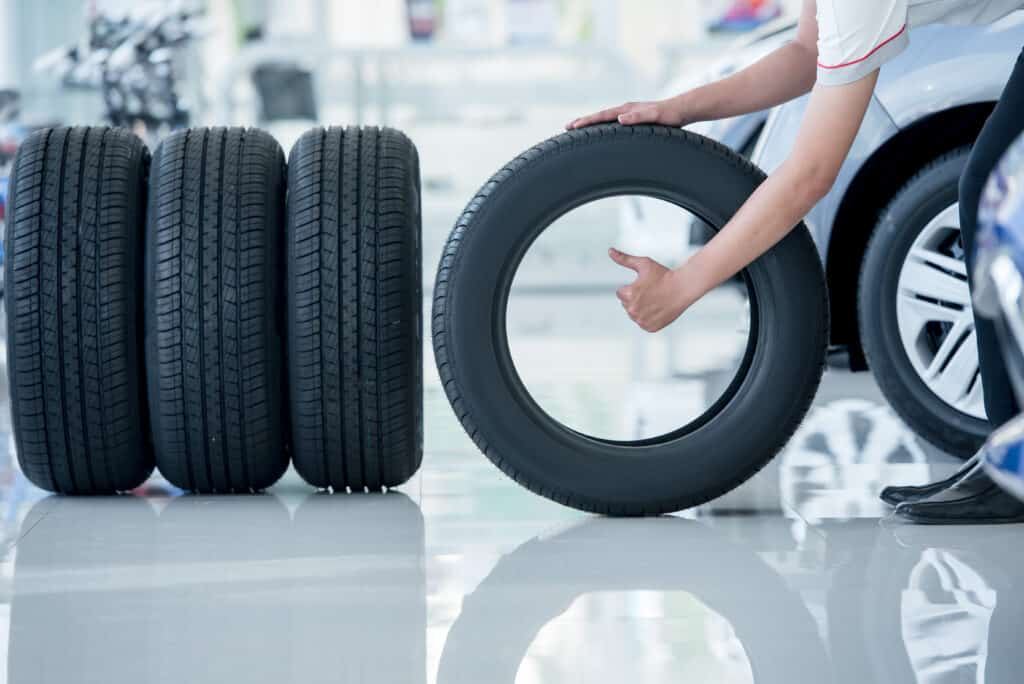 tyres delivered by our courier services